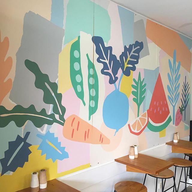 """Leah Bartholomew on Instagram: """"New mural installe"""