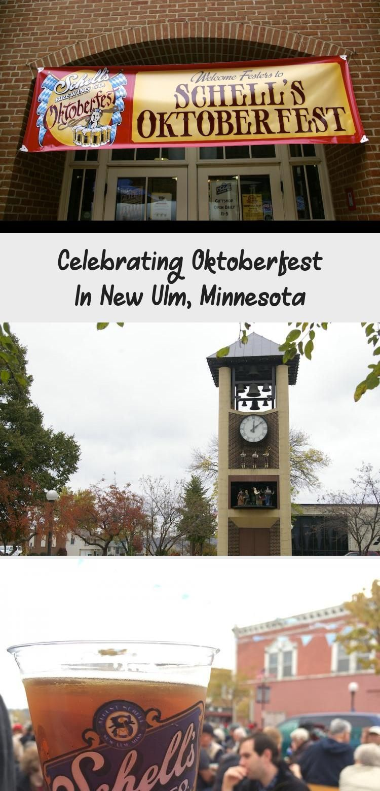 Celebrating Oktoberfest In New Ulm, Minnesota