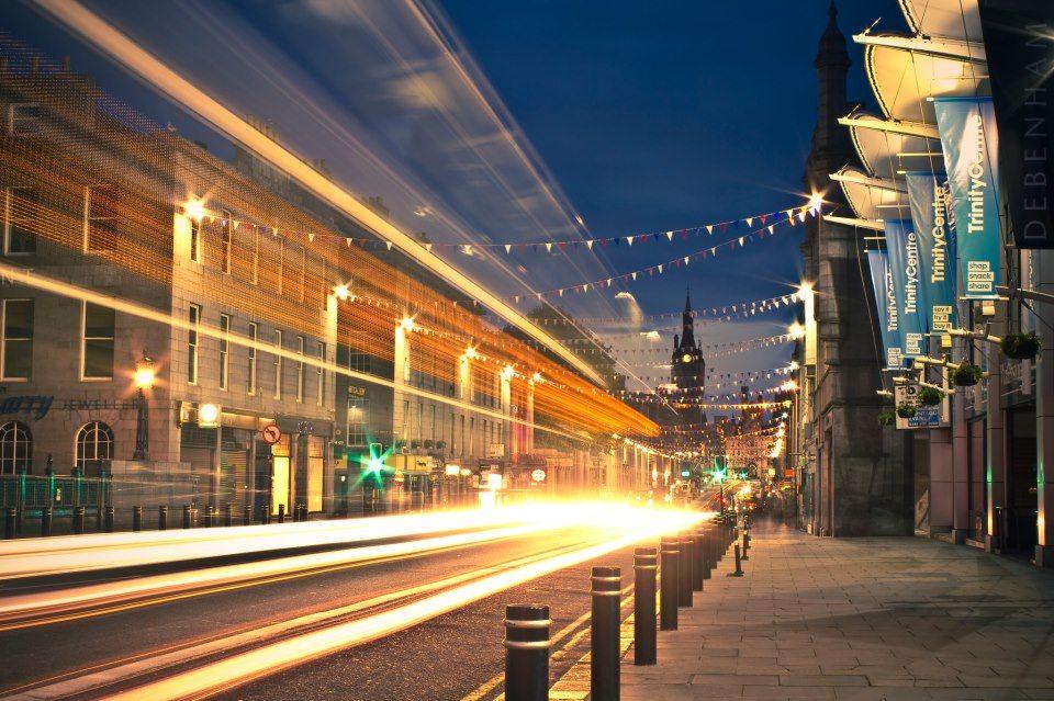 Union Street On A Summer Night Aberdeen Granite City Summer Nights City