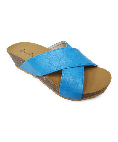 This Blue Zahara Sandal is perfect! #zulilyfinds