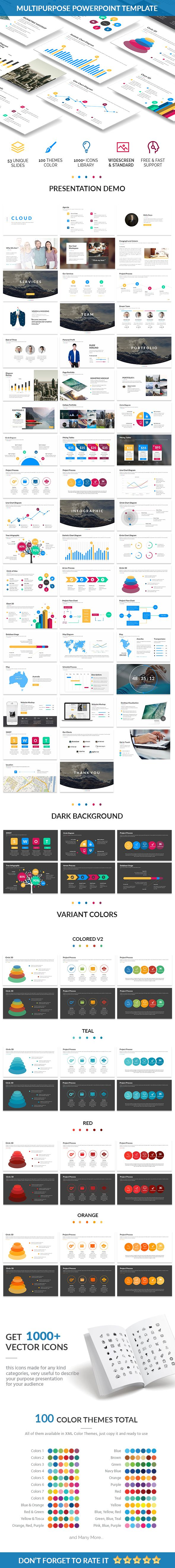 Omega - Creative Powerpoint Template