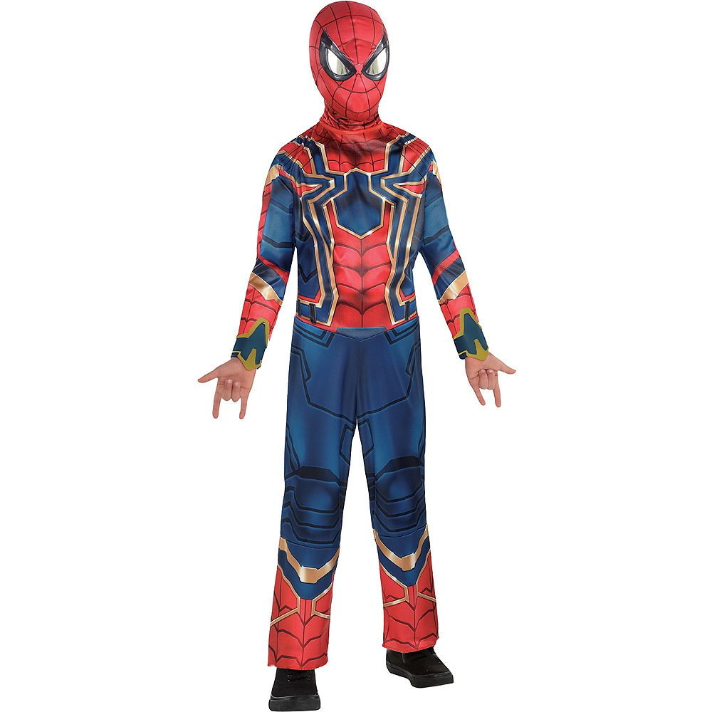 Boys Spider Man Iron Spider Costume Avengers Infinity War With