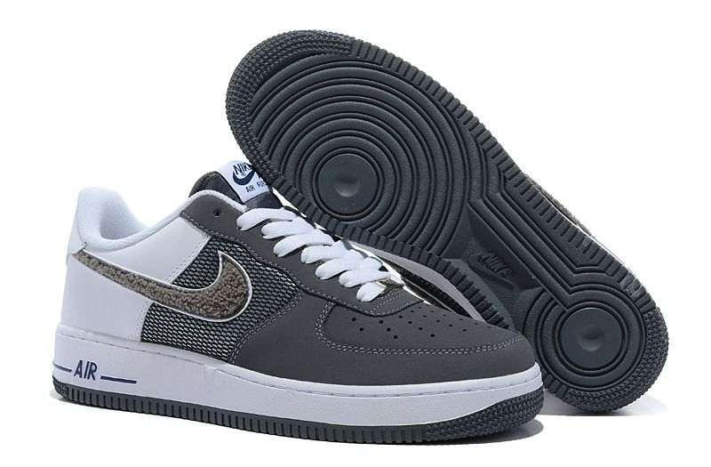 nike air force 1 hombre grises