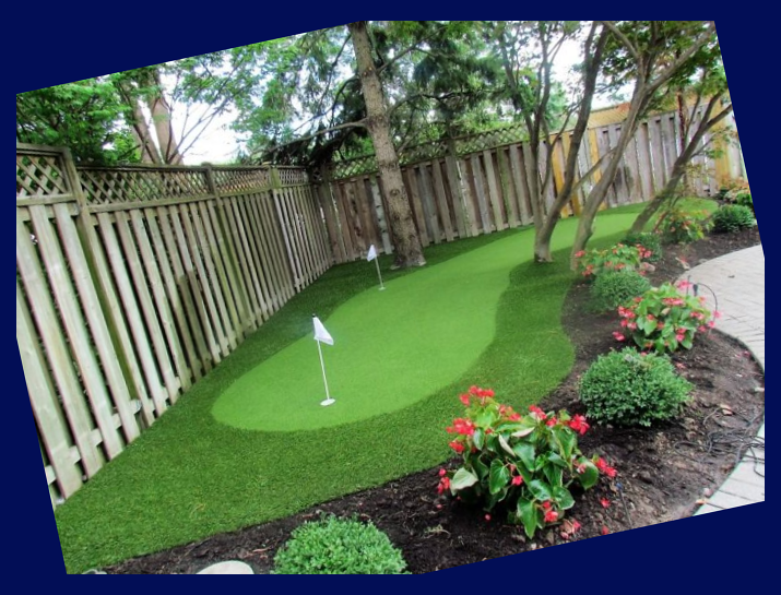 Diy Backyard Putting Green Kit