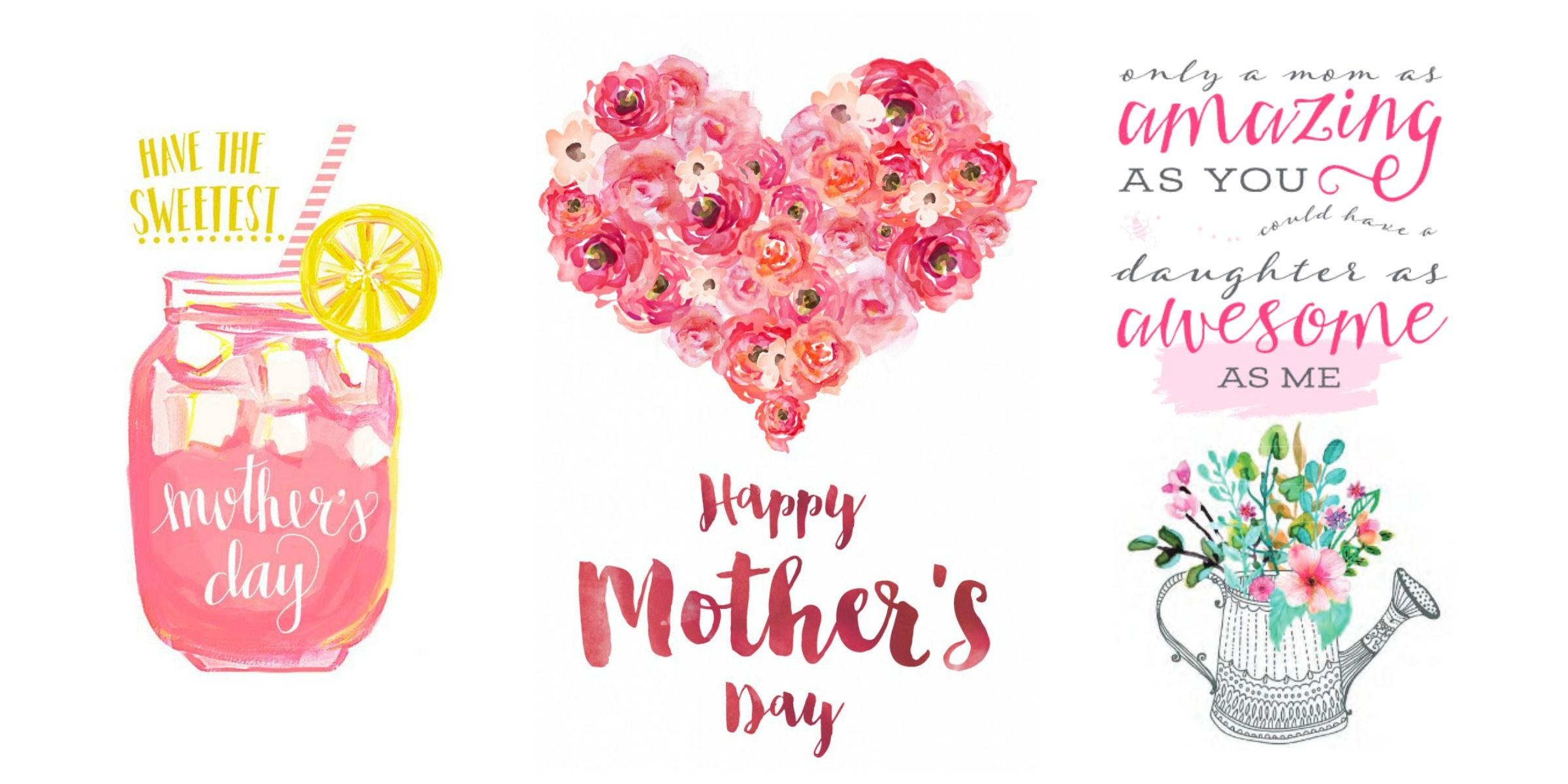 the prettiest mother s day cards you can print for free mother 39 s day free printable cards. Black Bedroom Furniture Sets. Home Design Ideas