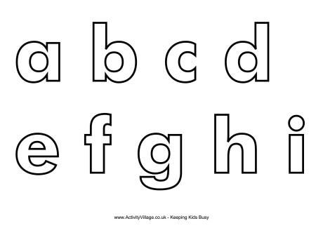 photo relating to Small Printable Letters named Letter templates Homeschooling Alphabet letter templates