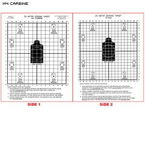 photo about Printable Zeroing Targets titled Pin upon plans