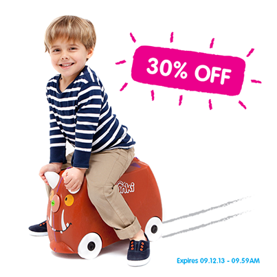 Dragon's Den's most successful reject: Trunki inventor sells two million children's sit-on sui         via http://newsmix.me