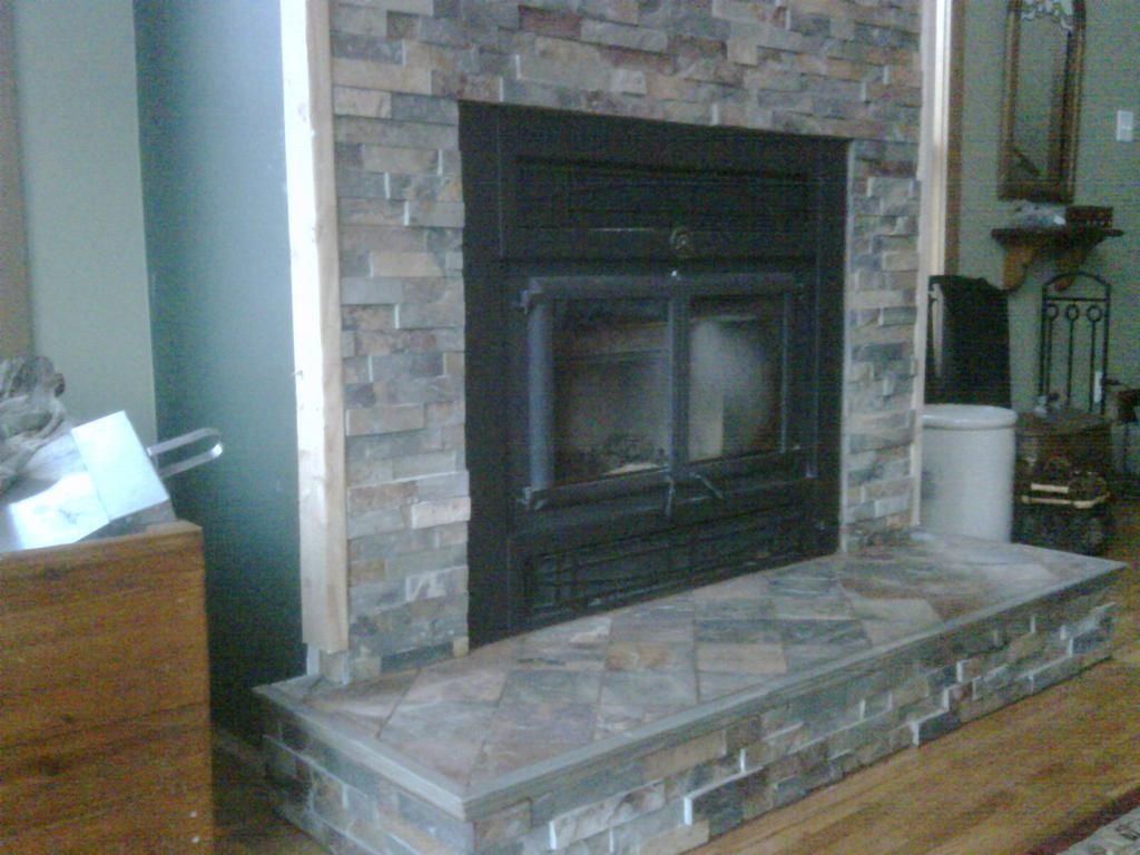 should we build our mantle up tile is by jlc tile works house