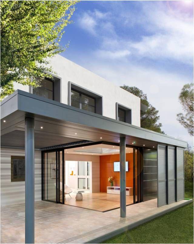 Plus qu 39 une v randa extens 39 k est un concept unique d 39 extension maison avec pergola - Maison avec veranda integree ...
