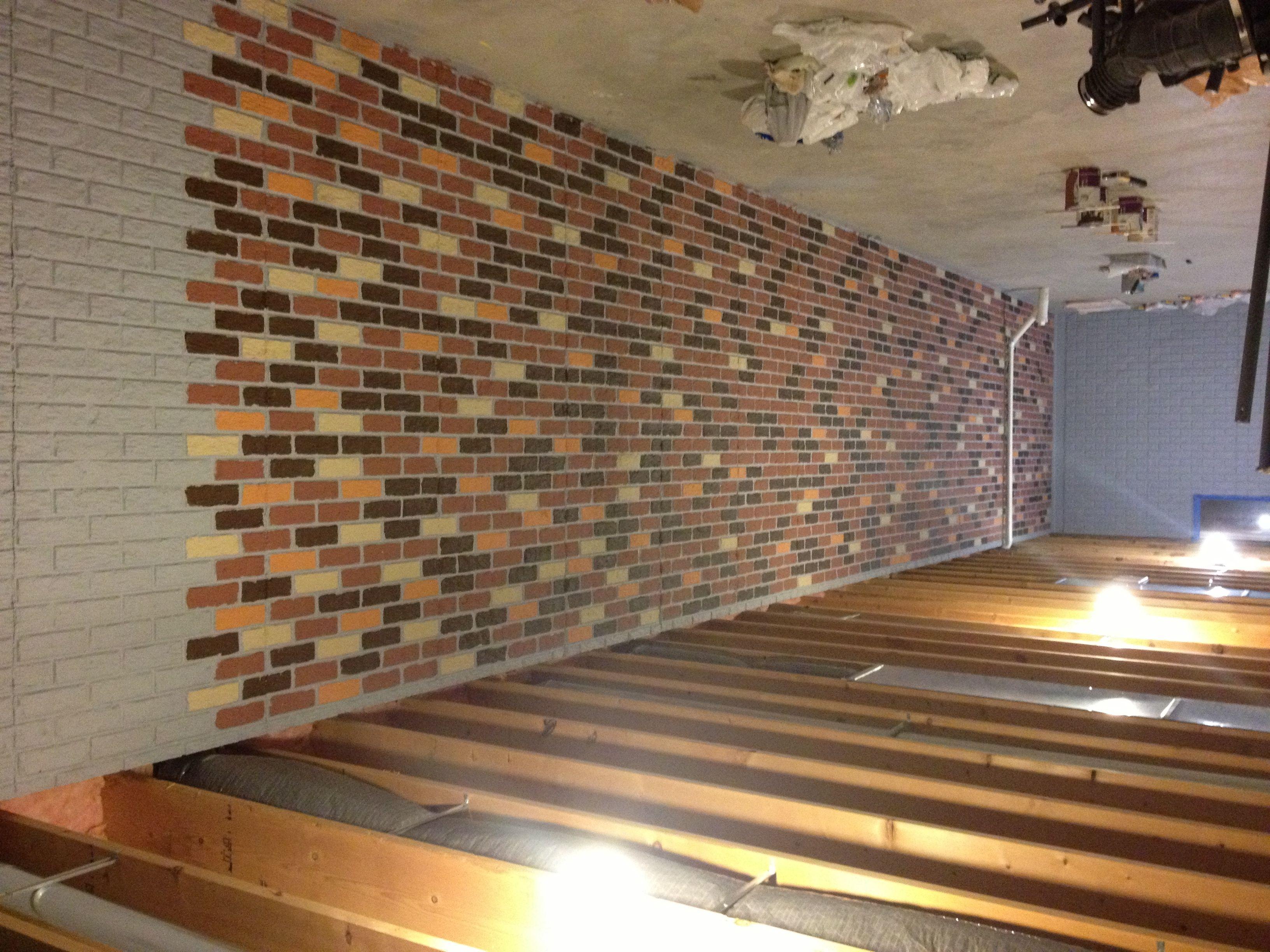 Ideas Painting Cement Basement Walls Concrete Basement Walls Breeze Block Wall Basement Makeover