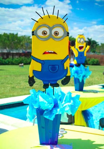 Minions Birthday Party Ideas Party Decor Cumpleanos Fiesta