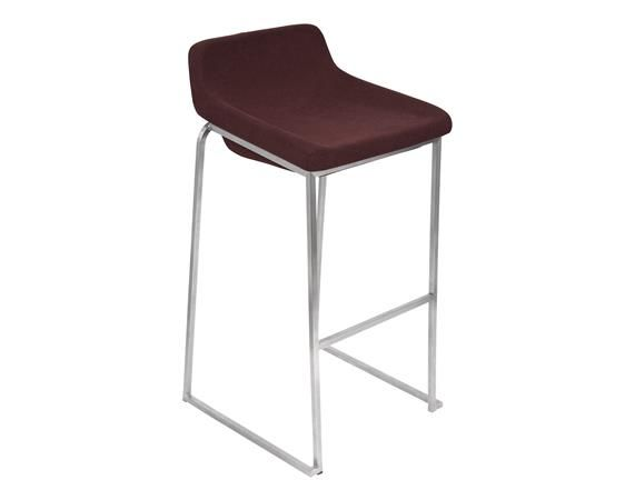 Perfect Burgundy LumiSource Drop In Stackable Bar Stool   Set Of 2   DEQOR.com Images