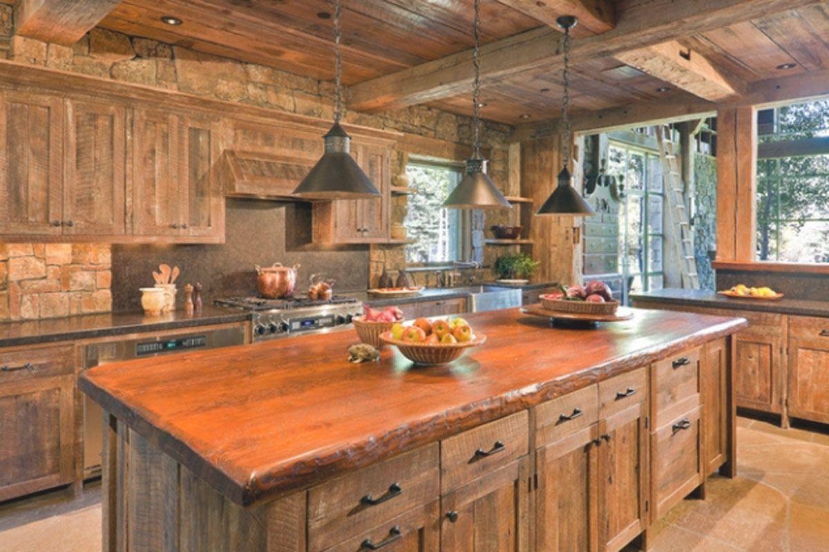 Romantic Rustic Kitchens Kitchen Ideas Budget Applying Home Art
