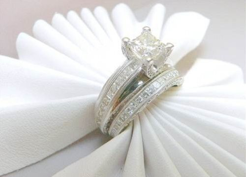 White Gold Wedding Rings For Men And Women