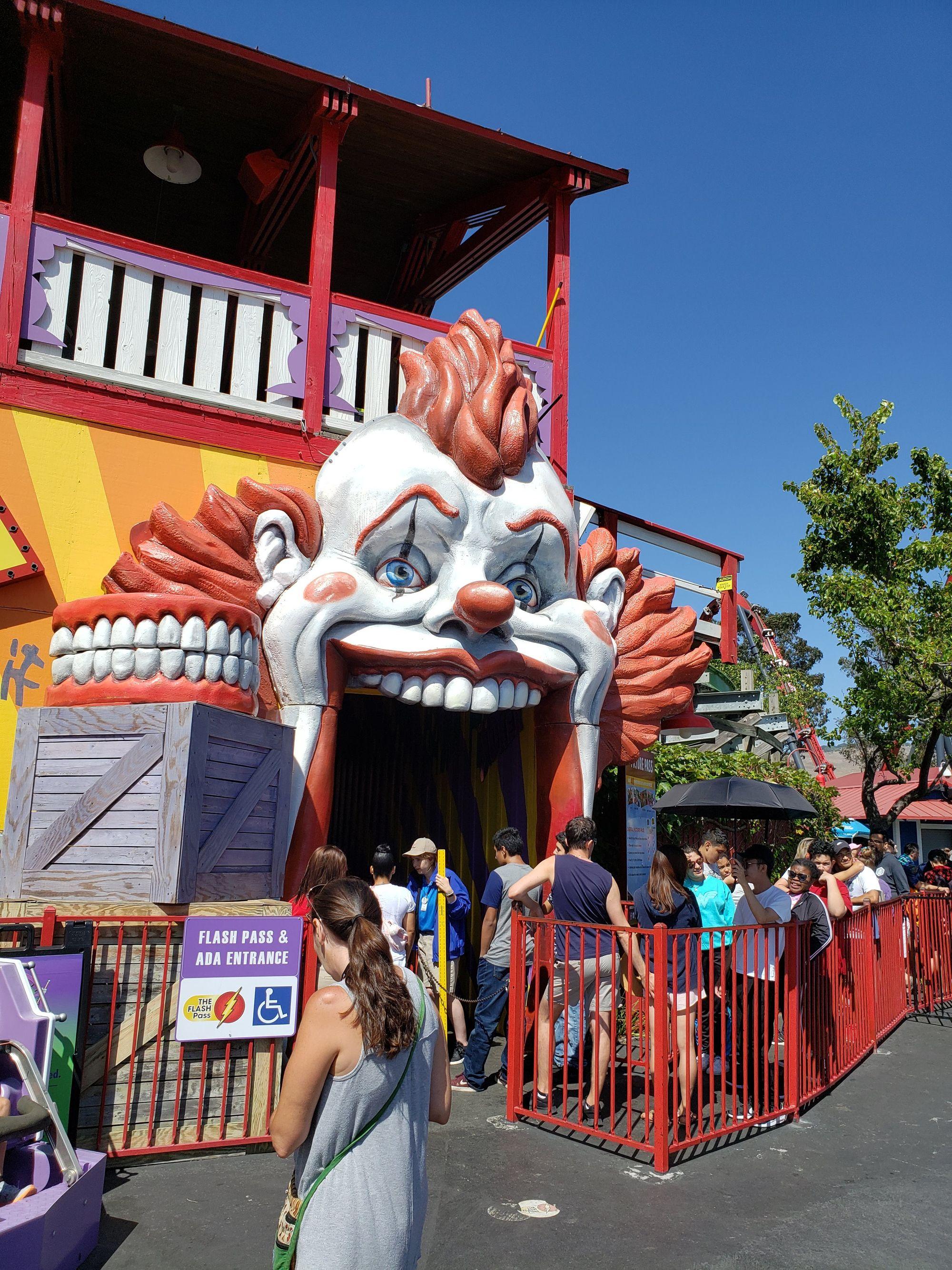 Medusa Six Flags Discovery Kingdom Vallejo California Roller Coaster Vallejo California Six Flags