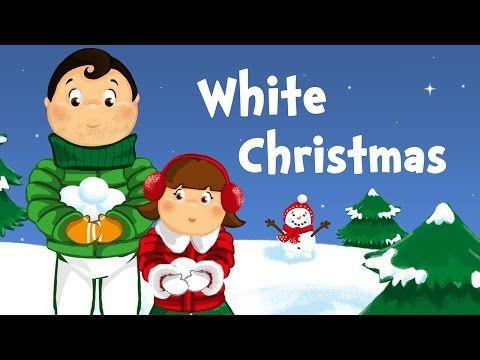 white christmas christmas song for kids with lyrics youtube - Christmas Songs Lyrics Youtube