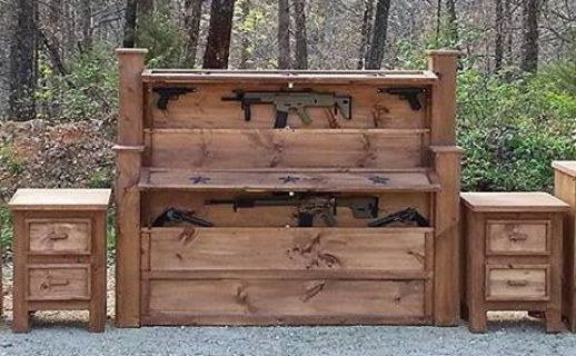 Rough Country Rustic Furniture Decor Home Defense Concealment