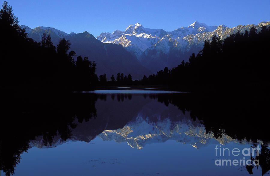 Nz Alps Photograph  - Nz Alps Fine Art Print