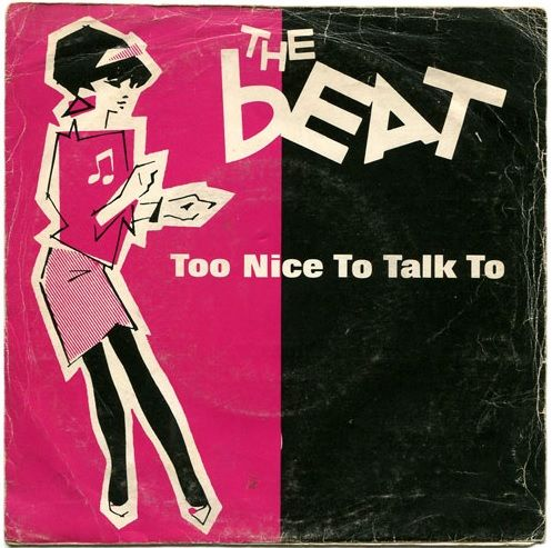 "The Beat - Too Nice To Talk To (Spanish 7"")"