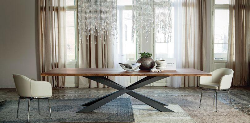 Der Spyder Tisch Ist Ein Modernes Esstisch Design, Entworfen Von Philip  Jackson Für Cattelan Italia. Der Esstisch Ist Nur Mit Einem Fuß, Der Eine  Interessan