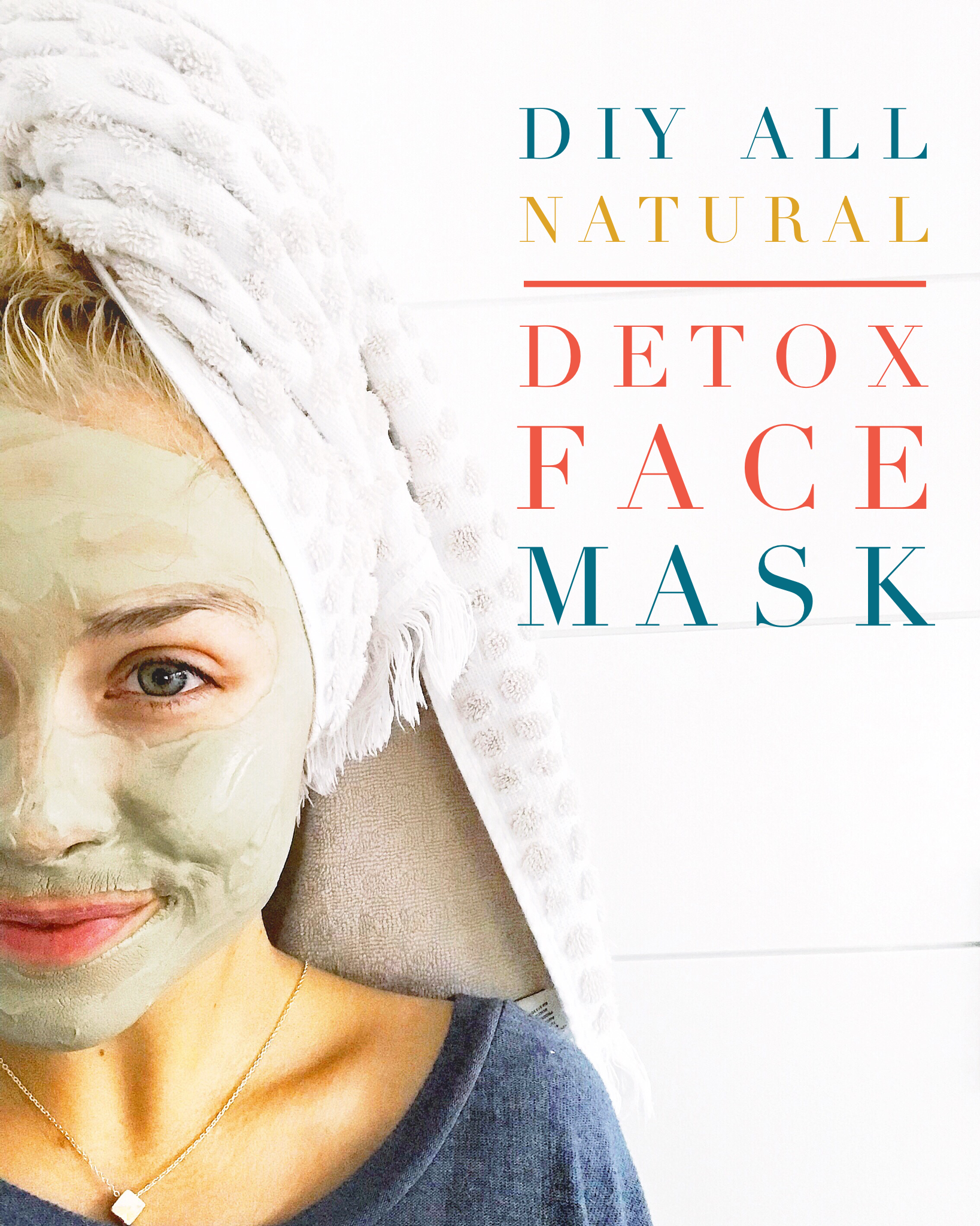 Chemical free clay mask for ultimate natural skincare