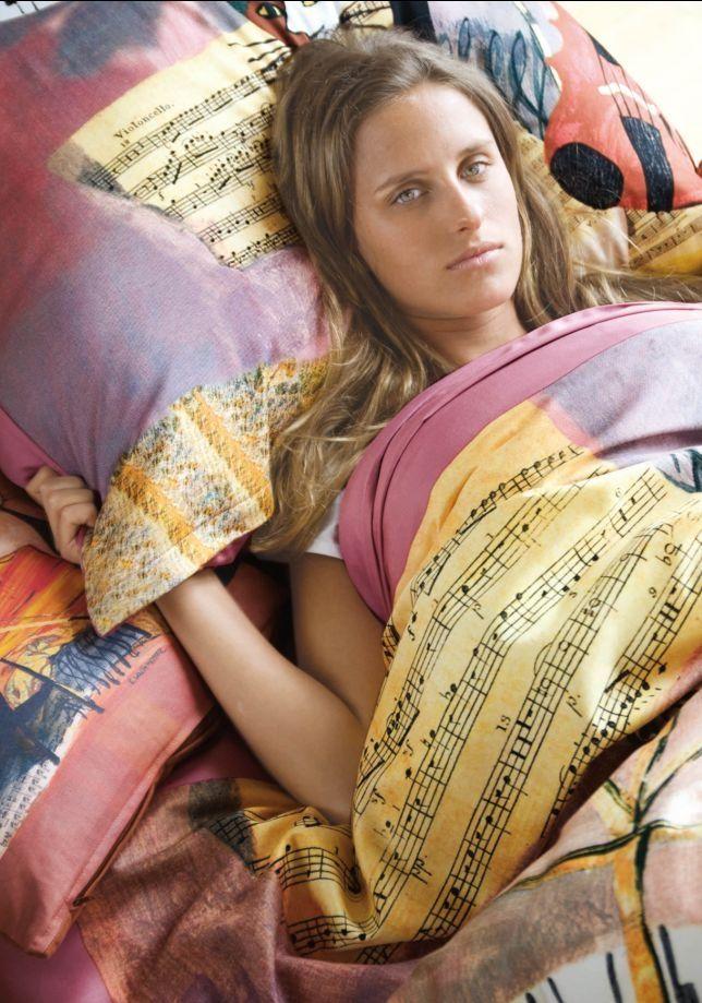 Rosina Wachtmeister Bettwäsche Musical Cat Biber 1352008080 Cm