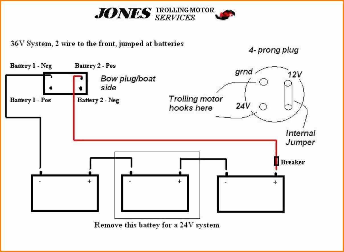 Elegant 24 Volt Trolling Motor Battery Wiring Diagram in ...