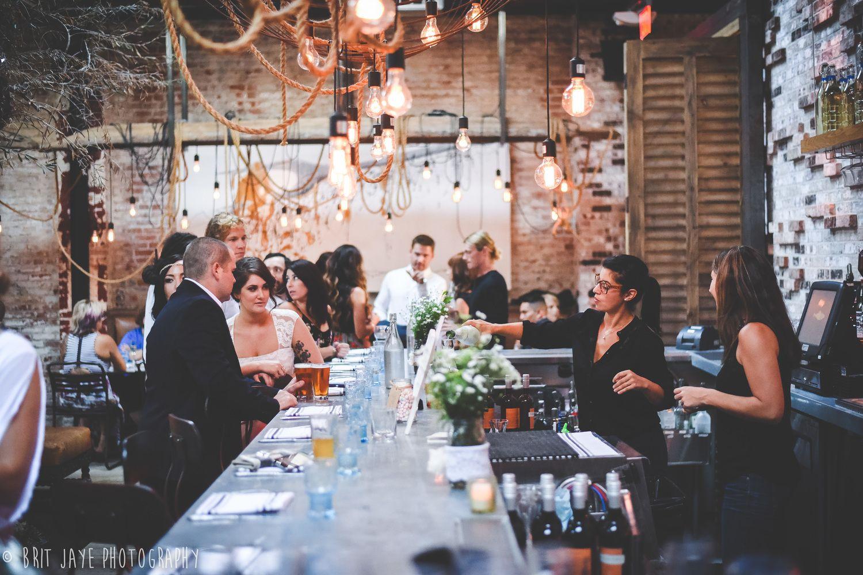 Modern Wedding Reception Restaurant Wedding Reception At The