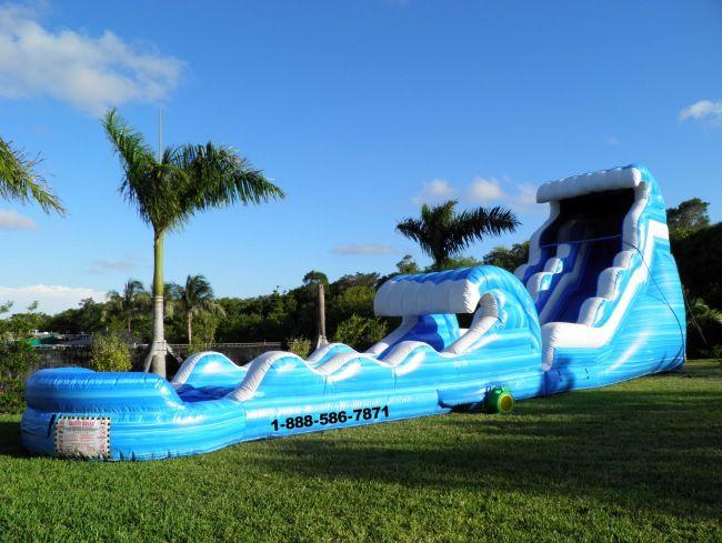 My Florida Party Rental Bounce House Water Slide Tent Miami Broward Water Slide Rentals Water Slides Bounce House Rentals