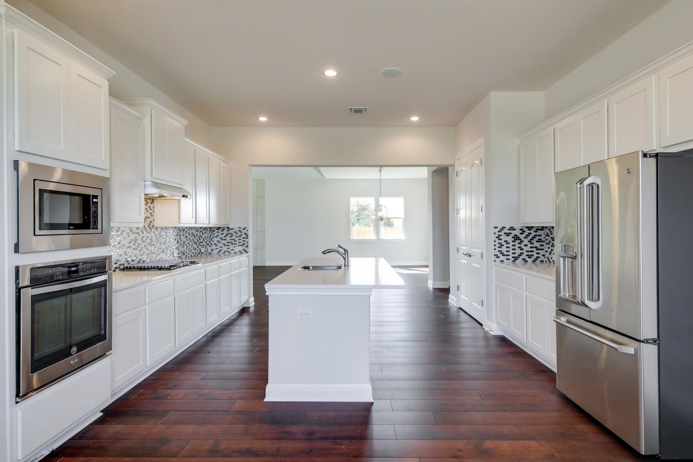Gorgeous family room... Santa Rita Ranch, Liberty Hill | Homes for ...