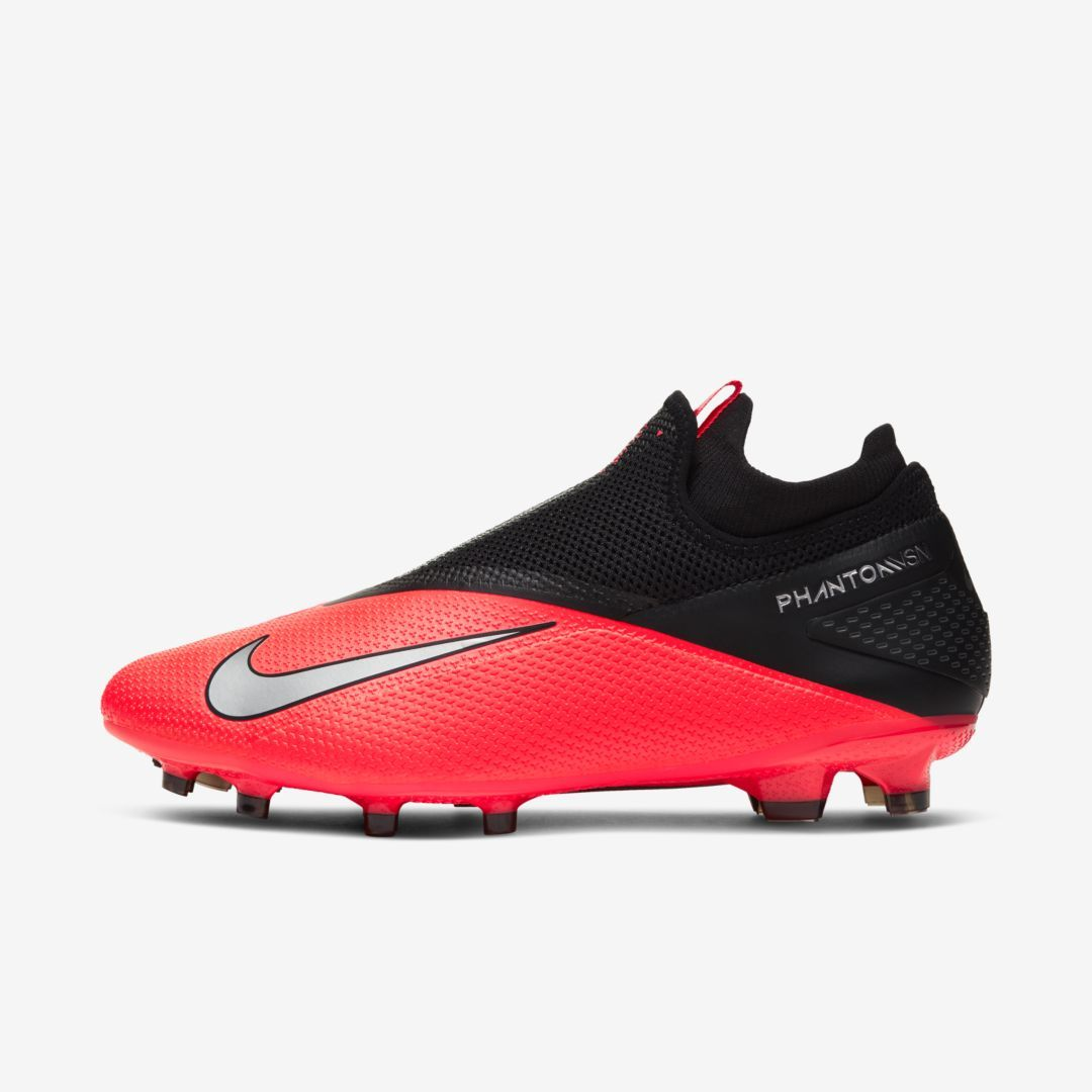 Nike Phantom Vision 2 Pro Dynamic Fit Fg Firm Ground Soccer Cleat Laser Crimson In 2020 Soccer Cleats Cleats Football Boots