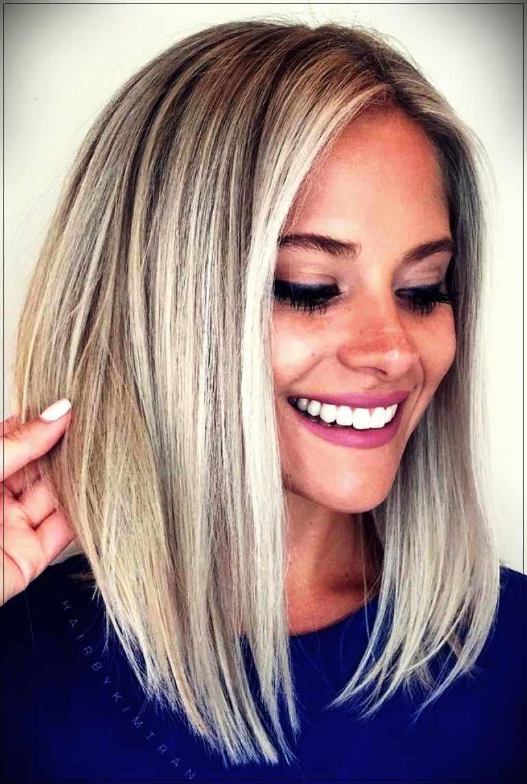 Medium Haircuts For Women 2020short And Curly Haircuts Cool Blonde Hair Hair Styles Medium Short Hair