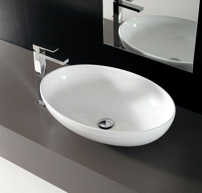 Lavabo ovale Softly 60 cm