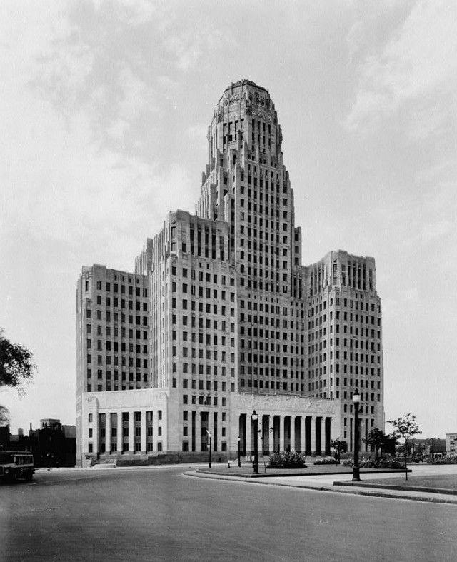 City Hall Niagara Sq 1930 City Hall At Niagara Square In
