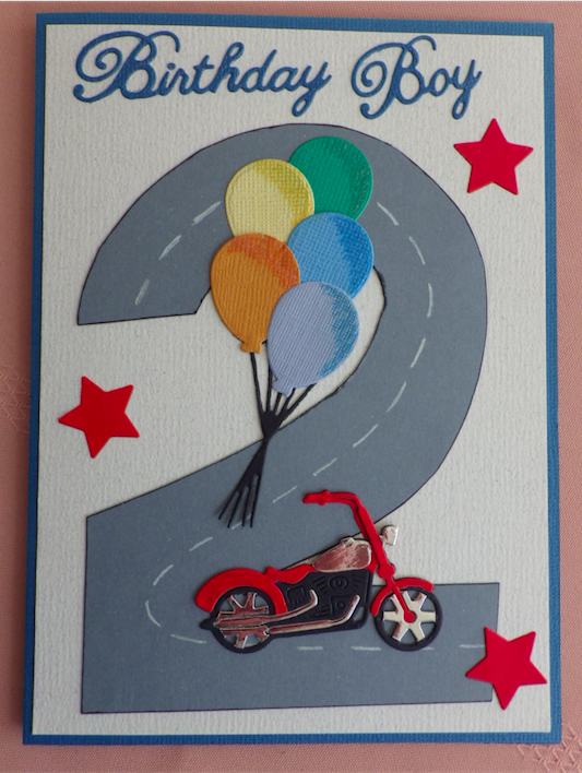 Two Year Old Boys Card Birthday Cards Pinterest Cards Bday