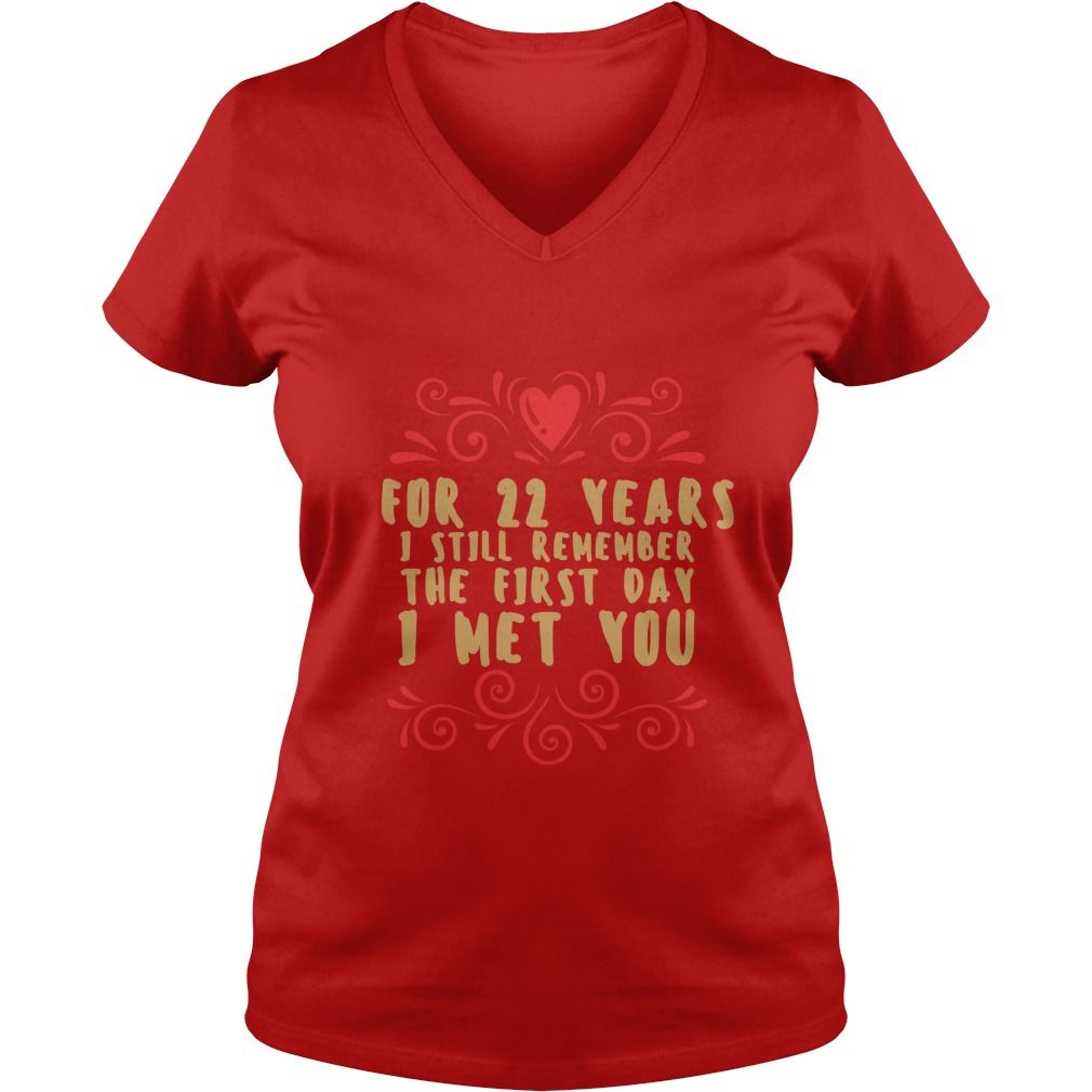 Meaning T Shirt For Husband And Wife 22nd Wedding Anniversary