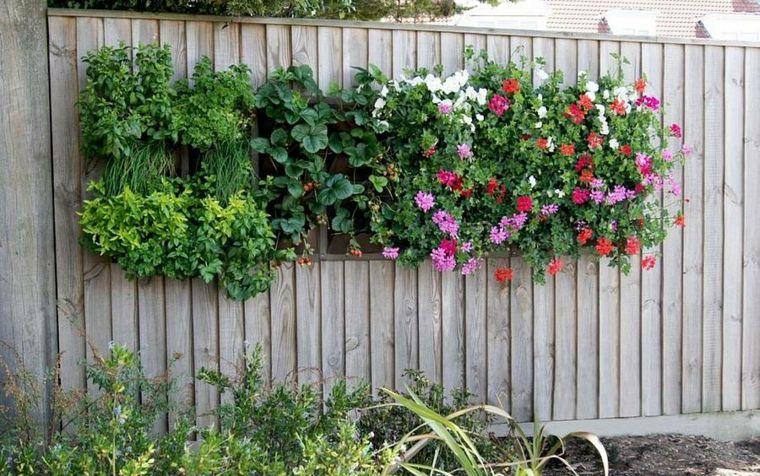 jardinera vertical de palet VeroGüil interiors Pinterest - jardineras verticales