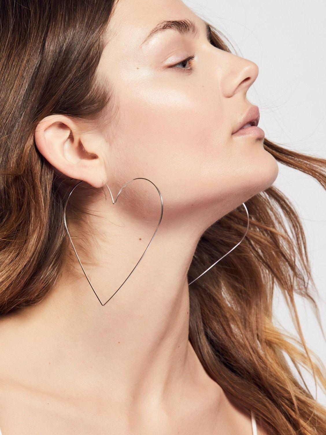 f7c40e7db6f68 Big Lovin' Hoops | Accessories | Jewelry, Earrings, Ear jewelry