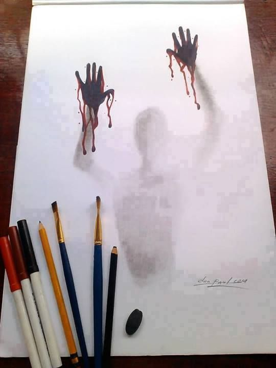 Pin By Usain D On Creative Cool Art Drawings Art Drawings Sketches Scary Drawings