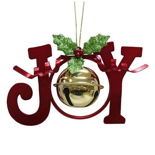 st nicholas square joy bell christmas ornament kohls