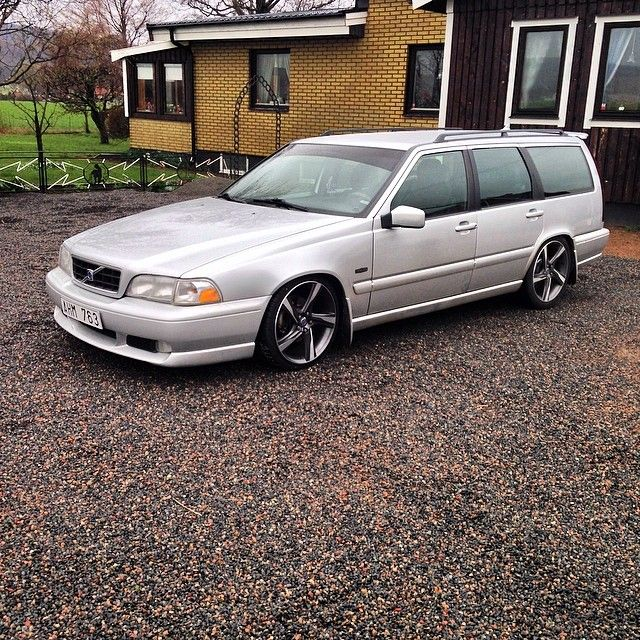 "1990 Volvo Wagon For Sale: Gasmonkeys0573: ""V70 "" Silver Brick."