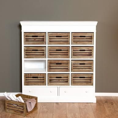 CAMPAGNE Regal mit 14 Schubladen Interiors - schubladen für küchenschränke