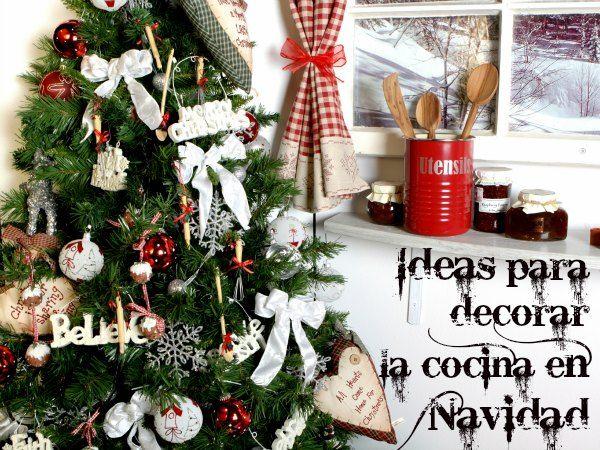 Ideas para decorar la cocina en navidad decorar la for Todo decoracion hogar