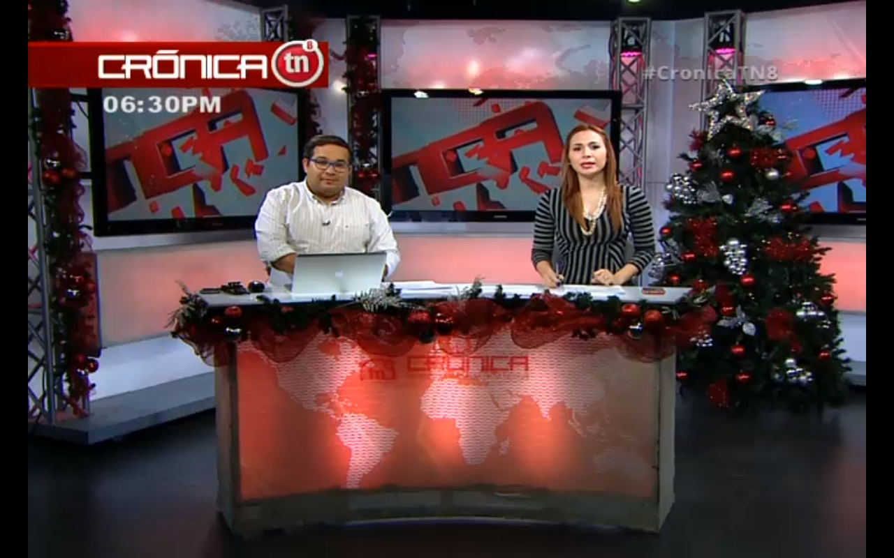 Inicia ahora la edición estelar de #CronicaTN8... Visita nuestra pagina de noticias www.tn8.tv