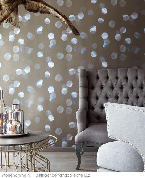 eijffinger luz behang - wanddecoraties, stoelen en verlichting, Deco ideeën