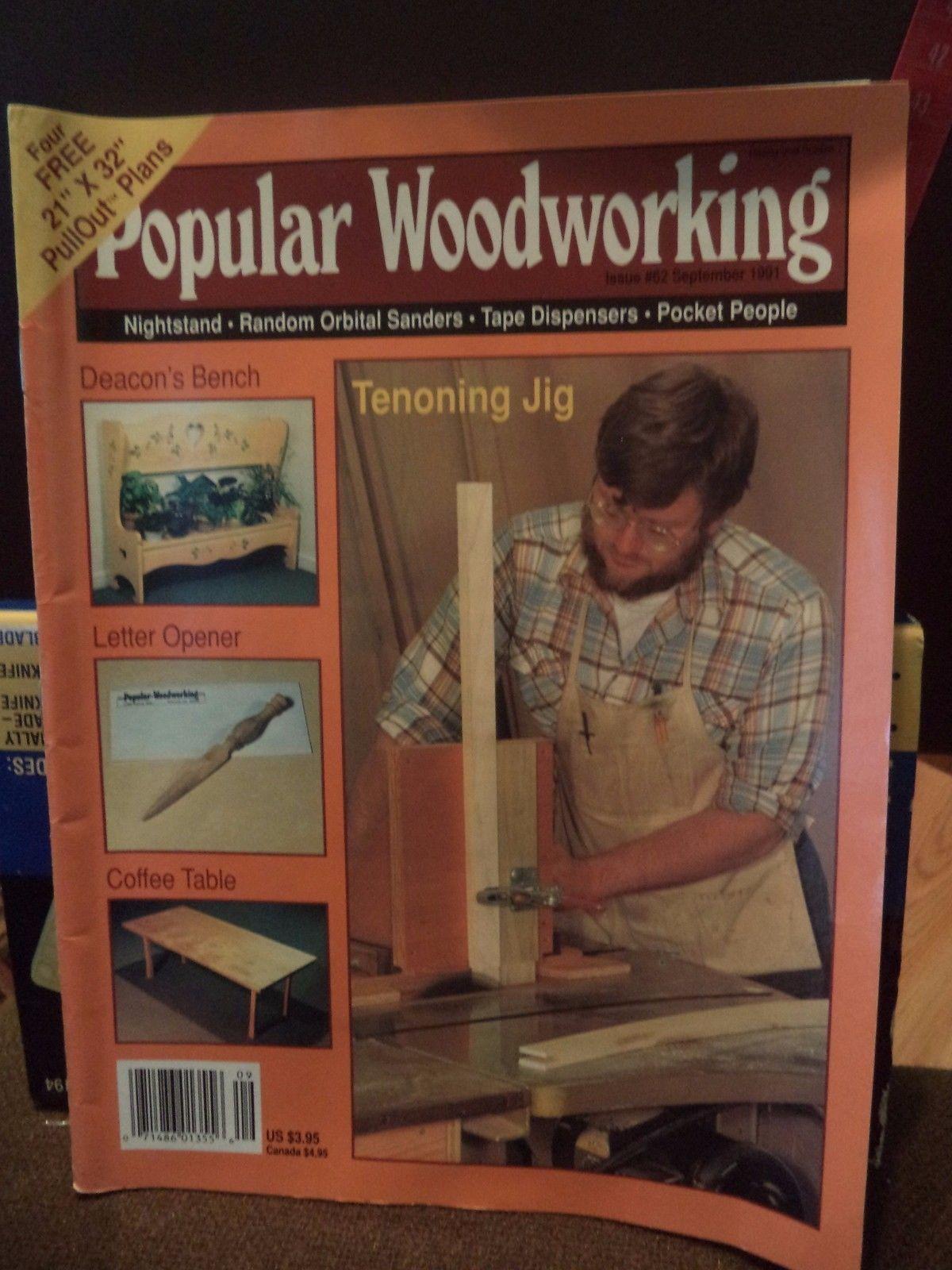 Popular Woodworking Nightstand Tape Dispenser Pocket People More