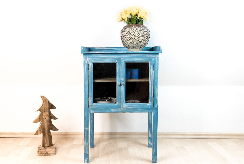 Möbel Mit Kreidefarbe Streichen U2013 Shabby Chic   Möbel Selbst Gestalten   Möbel Streichen