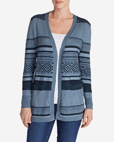 Women's Fiona Boyfriend Cardigan Sweater: Lightweight, breathable ...