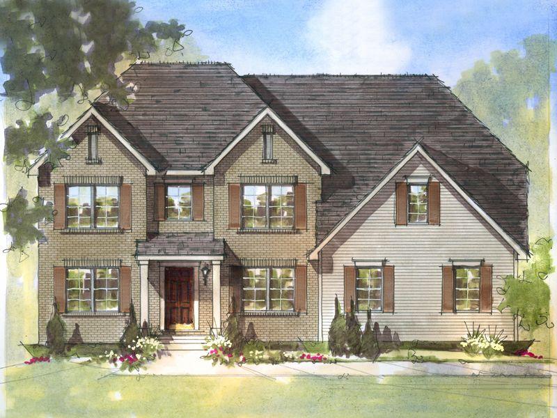 Custom Home Builder Floor Plans: House Plan Detail Dearborn A Ben